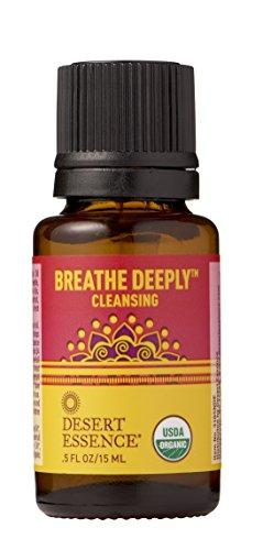 Desert Essence Essential Oil, Breathe Deeply, 0.5 Fluid Ounce