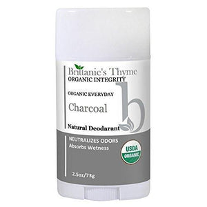 The Only USDA Certified Organic Activated Charcoal Deodorant