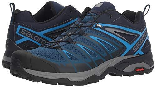Salomon Men's X Ultra 3 Trail Running Shoe, Poseidon/Indigo Bunting/Quiet Shade, 11 D US