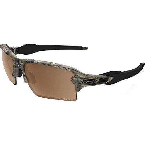 Oakley Men's Flak 2.0 XL Polarized Sunglasses,Brown
