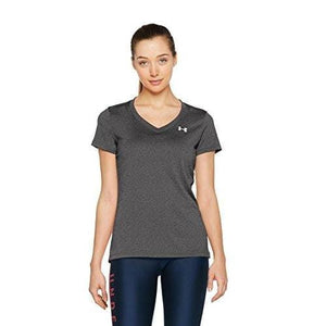 Under Armour womens Tech short sleeve v-neck