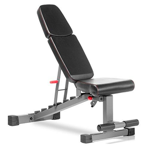 Commercial Flat Incline Decline Weight Bench, 1500 lb Capacity Sport & Recreation XMark Fitness