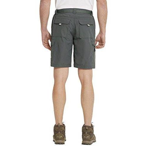 Baleaf Men's Quick Dry UPF 50+ Casual Cargo Camo Shorts Deep Gray 36W Activewear Baleaf