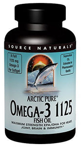 Source Naturals ArcticPure Omega-3 1125mg Maximum Strength EPA/DHA - 120 Softgels