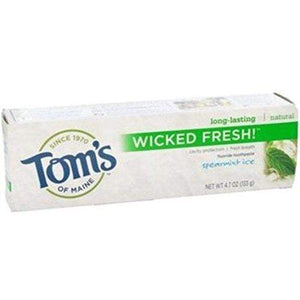 Tom's of Maine Natural Wicked Fresh Fluoride Totohpaste Spearmint Ice 4.70 oz