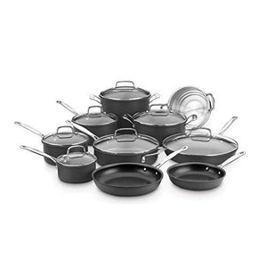 Cuisinart 66-17N Chef's Classic Non-Stick Hard Anodized, 17 Piece Set, Black