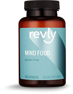 Amazon Brand - Revly Mind Food, 120 Capsules, 1 to 4 Month Supply