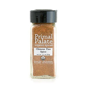 Organic Spices Chinese Five Spice, Certified Organic Food & Drink Primal Palate Organic Spices