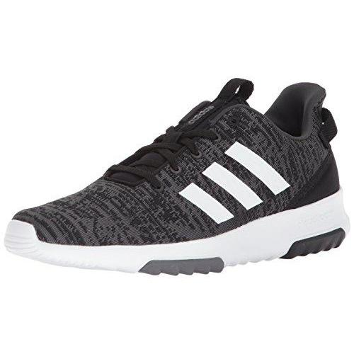 adidas Men's CF Racer TR, Core Black/White/Carbon, 7.5 M US