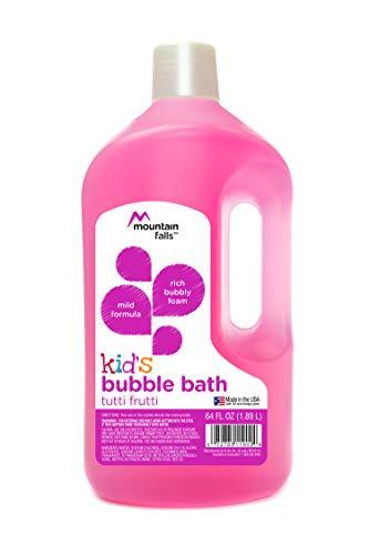Mountain Falls Kid's Bubble Bath, Tutti Frutti, 64 Fluid Ounce (Pack of 3)