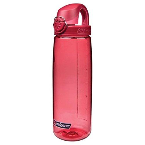 Nalgene Tritan On The Fly Water Bottle, Petal with Beet Red, 24Oz Sport & Recreation Nalgene