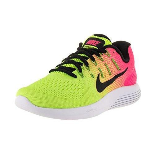 Nike Women's Lunarglide 8 Oc Multi-Color/Multi-Color Ankle-High Fabric Running Shoe - 7.5M Shoes for Women NIKE