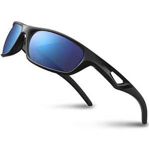 f7445f818936 RIVBOS Polarized Sports Sunglasses Driving Glasses for Men Women Tr90  Unbreakable Frame for Cycling Baseball Running