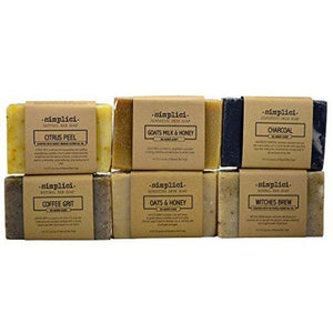 SIMPLICI Natural Soap (6 Bar) Value Pack