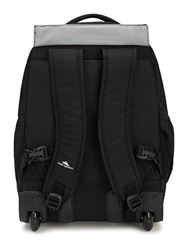 High Sierra Chaser Wheeled Laptop Backpack, Black