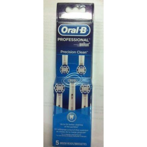 5pkOral-B PROFESSIONAL Precision Clean 5 Replacement Brush Heads