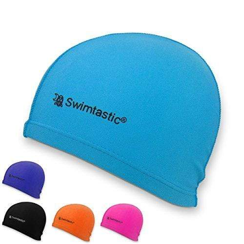Swimtastic Lycra Swim Cap, Blue Swim Cap Swimtastic®
