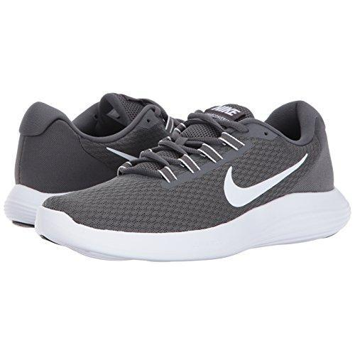 NIKE Men's Lunarconverge Running Shoe, Dark Grey/White/Anthracite/Black, 10 D(M) US Shoes for Men NIKE