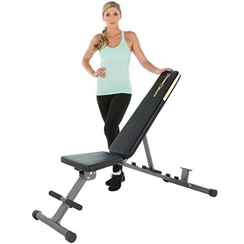 Fitness Reality 1000 Super Max Adjustable Weight Bench, 800 lbs