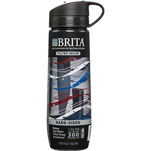 Brita Filtered Water Bottle (includes 1 Filter), 23.7 Ounces Accessory Brita