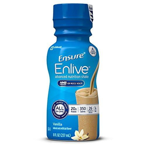 Enlive Advanced Nutrition Shake with 20 grams of protein