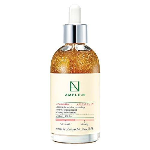 [AMPLE:N] Peptide Shot Ampoule 3.38 fl. oz. (100ml) - Anti Wrinkle & Skin Elasticity Care/Powerful moisture circulation