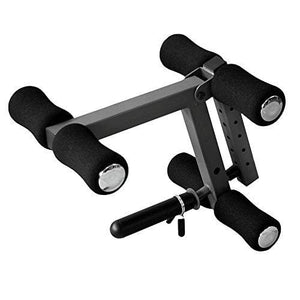 XMark Universal Leg Extension Attachment With Six Height Adjustments For Use With Standard or Olympic Plate Weights XM-4425.1