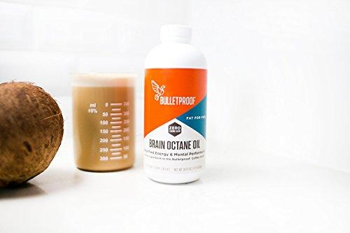 Bulletproof Brain Octane Oil, Reliable and Quick Source of Energy, Ketogenic Diet, More Than Just MCT Oil (3 Ounces)