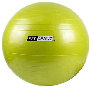Green Exercise Balance Fitness Yoga Ball with Pump - 45CM