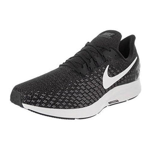 762ed0f32e291 NIKE Men s Air Zoom Pegasus 35 Black White Gunsmoke Oil Grey Running Shoe  10.5 Men