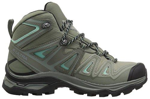 Salomon Women's X Ultra 3 Mid GTX W Hiking Boot,Shadow,8 M US