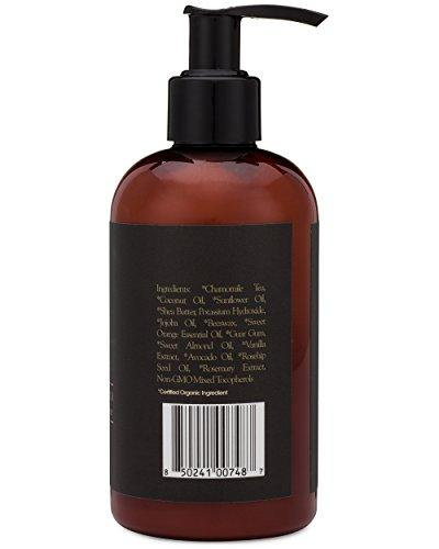 Organic Men's Face & Body Wash – Premium Moisturizing Cleanser For Dry, Sensitive Skin, Oily Acne Prone Skin With Jojoba, Avocado, Rosehip & More. Fight Acne, Wrinkles, Premature Aging With Each Wash