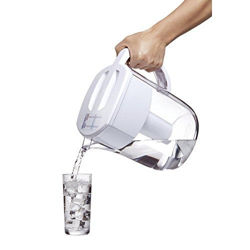 Brita Large 10 Cup Everyday Water Pitcher with Filter - BPA Free - White Accessory Brita
