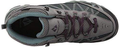 Vasque Women's Monolith Hiking Boot, Gray/Silver Pine, 9 M US