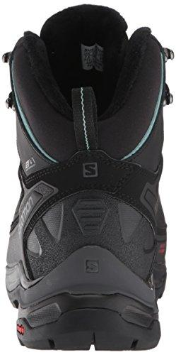 dc56f7b2 Salomon Women's X Ultra Mid Winter CS Waterproof W Hiking Boot,  Black/Phantom/Trellis, 6.5 D US