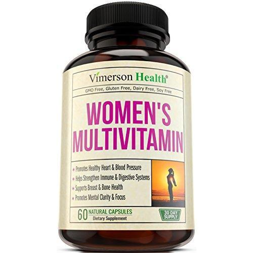 Women's Daily Multivitamin Supplement Supplement Vimerson Health
