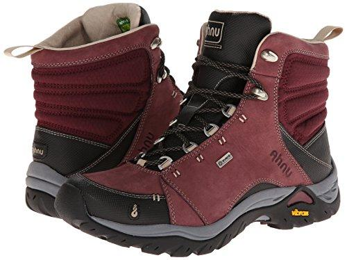 Ahnu Women's Montara Hiking Boot,Red Mahogany,10.5 M US