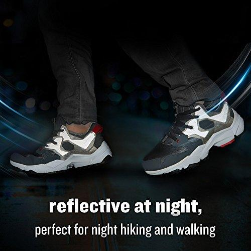 RAX Men's Cushioning Outdoor Antiskid Hiking Shoe Reflective at Night,Perfect for Night Hiking