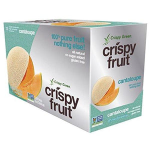Freeze-Dried Fruits, Non-GMO, Gluten Free, No Sugar Added, Cantaloupe (12 Count)