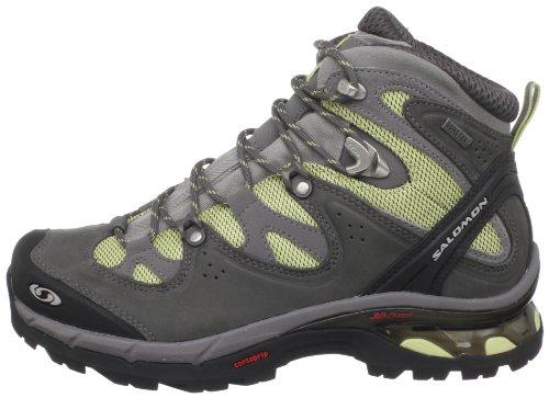 Salomon Women's Comet 3D Lady GTX Hiking Boot,Bamboo-X/Autobahn/Pewter,9 M US