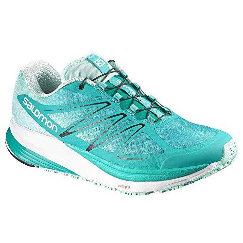 Salomon Sense Propulse Trail Running Shoe - Women's Teal Blue/Igloo Blue/Black 10.5
