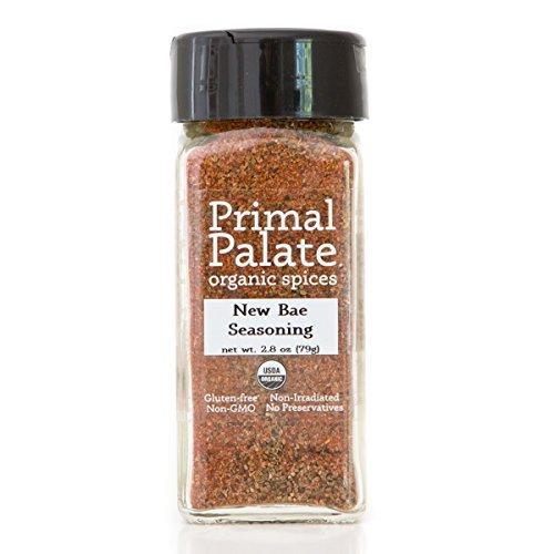 Organic Spices New Bae Seasoning, Certified Organic Food & Drink Primal Palate Organic Spices