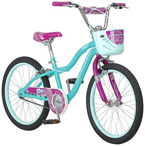 Schwinn Elm Girls Bike for Toddlers and Kids, 20-Inch Wheels, Teal