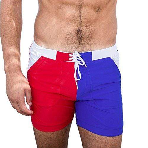 Taddlee Men's Swimwear Basic Long Swimming Trunk Surf Shorts Swimsuits Pocket (S)