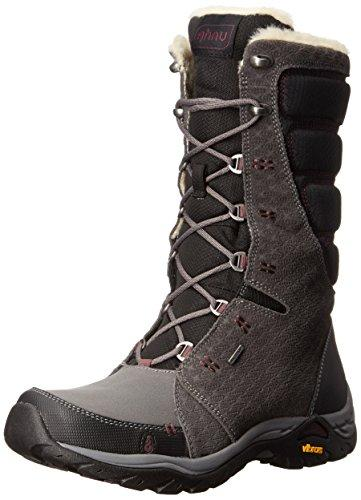 Ahnu Women's Northridge Star Suede Insulated Waterproof Hiking Boot, Granite, 8 M US