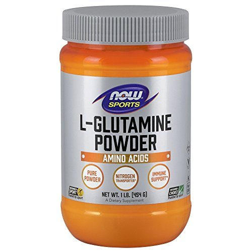 NOW  Sports L-Glutamine Powder, 1-Pound
