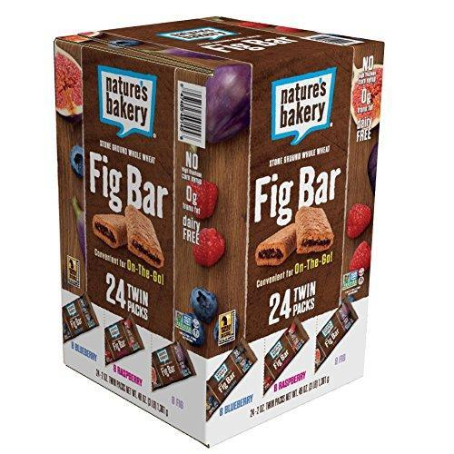 Whole Wheat Fig Bar, Vegan + Non-GMO, Variety Pack (24 Count)