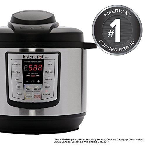 LUX80 8 Qt 6-in-1 Multi- Use Programmable Pressure Cooker, Slow Cooker, Rice Cooker, Sauté, Steamer, and Warmer Kitchen & Dining Instant Pot