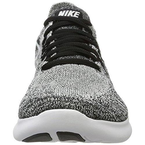 ed8078ba219aa ... NIKE Womens Free RN Flyknit 2017 Running Shoes Black/Volt/White 880844- 003 ...