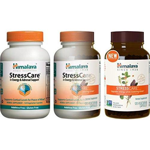 StressCare with Ashwagandha & Gotukola for Natural Stress Relief Supplement Himalaya Herbal Healthcare